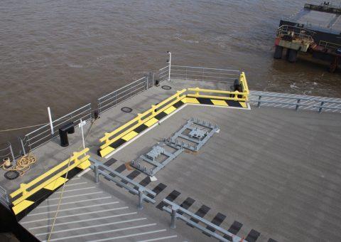 Peel Ports Group Ponton Ro-Ro Port de Sheerness