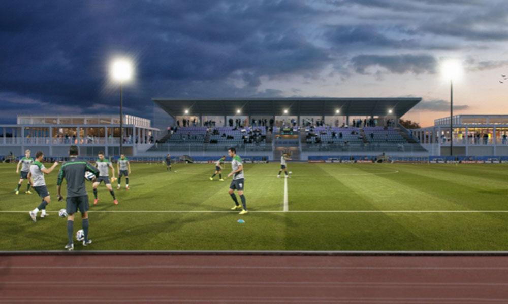 Knokke-Football-Stadium-wedstrijd